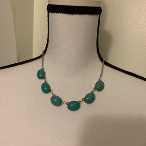 Paparazzi Turquoise Stone Necklace and Earrings